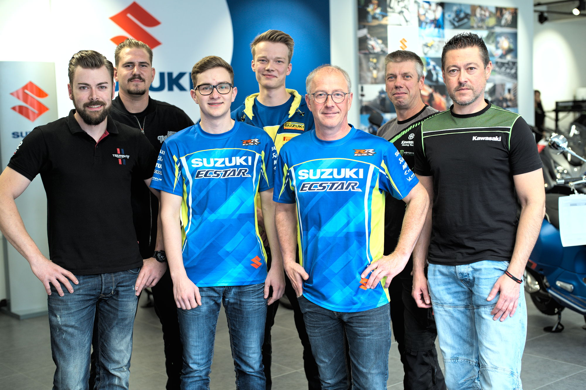 Motorrad Debus Team Siegen, NRW.