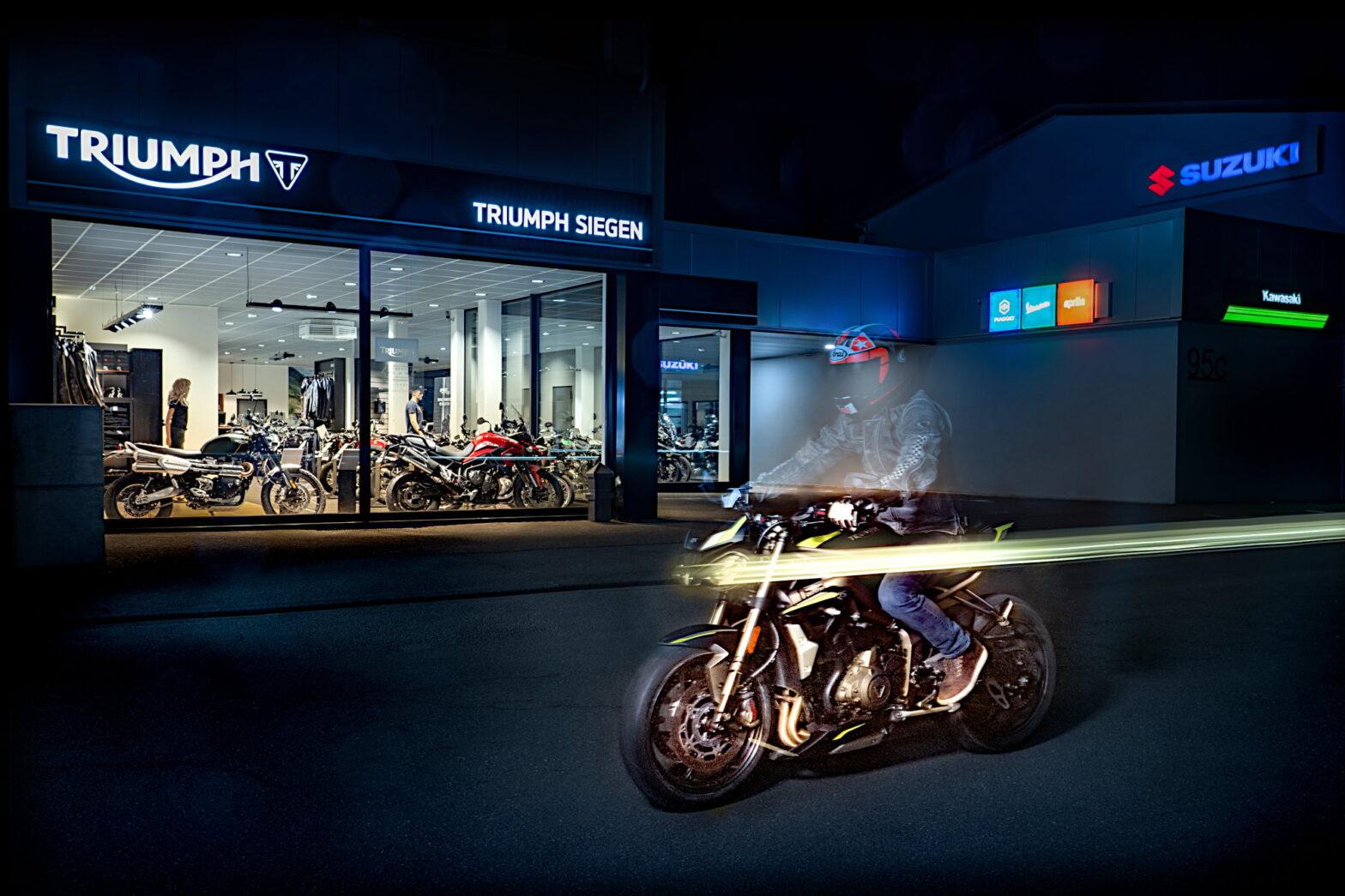 Motorradhändler in Siegen